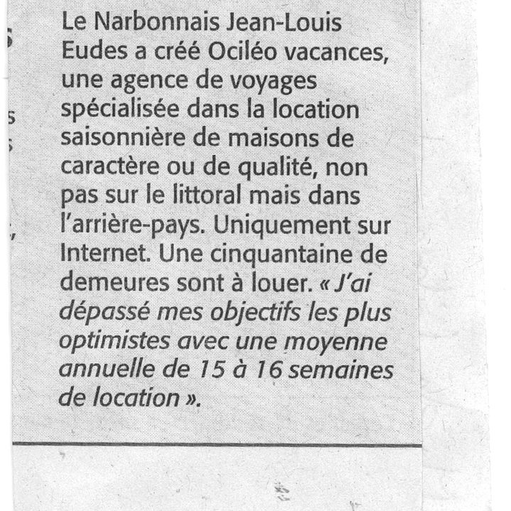 MIDI LIBRE 15AUG2009 001 square - Press talks about us